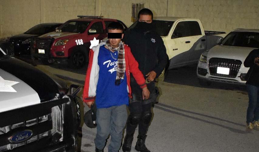 Menor andaba de escandaloso en Monclova