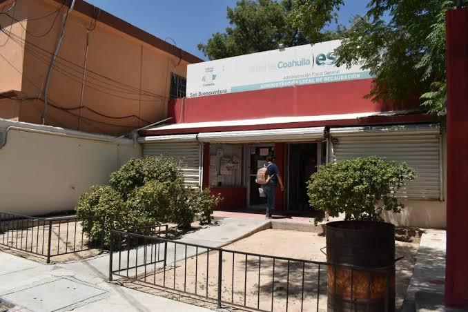 Acéfala oficina de recaudación de rentas en 'San Buena'