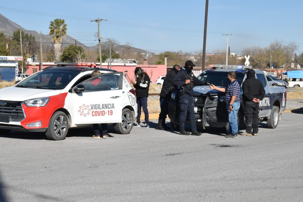 Operador de camión es sancionado por no utilizar el cubrebocas