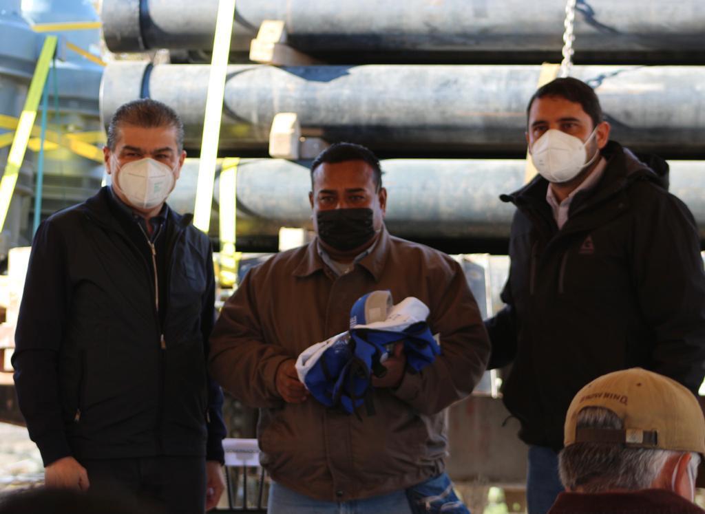 Inician obras hidráulicas en la Carbonífera por 31.6 mdp