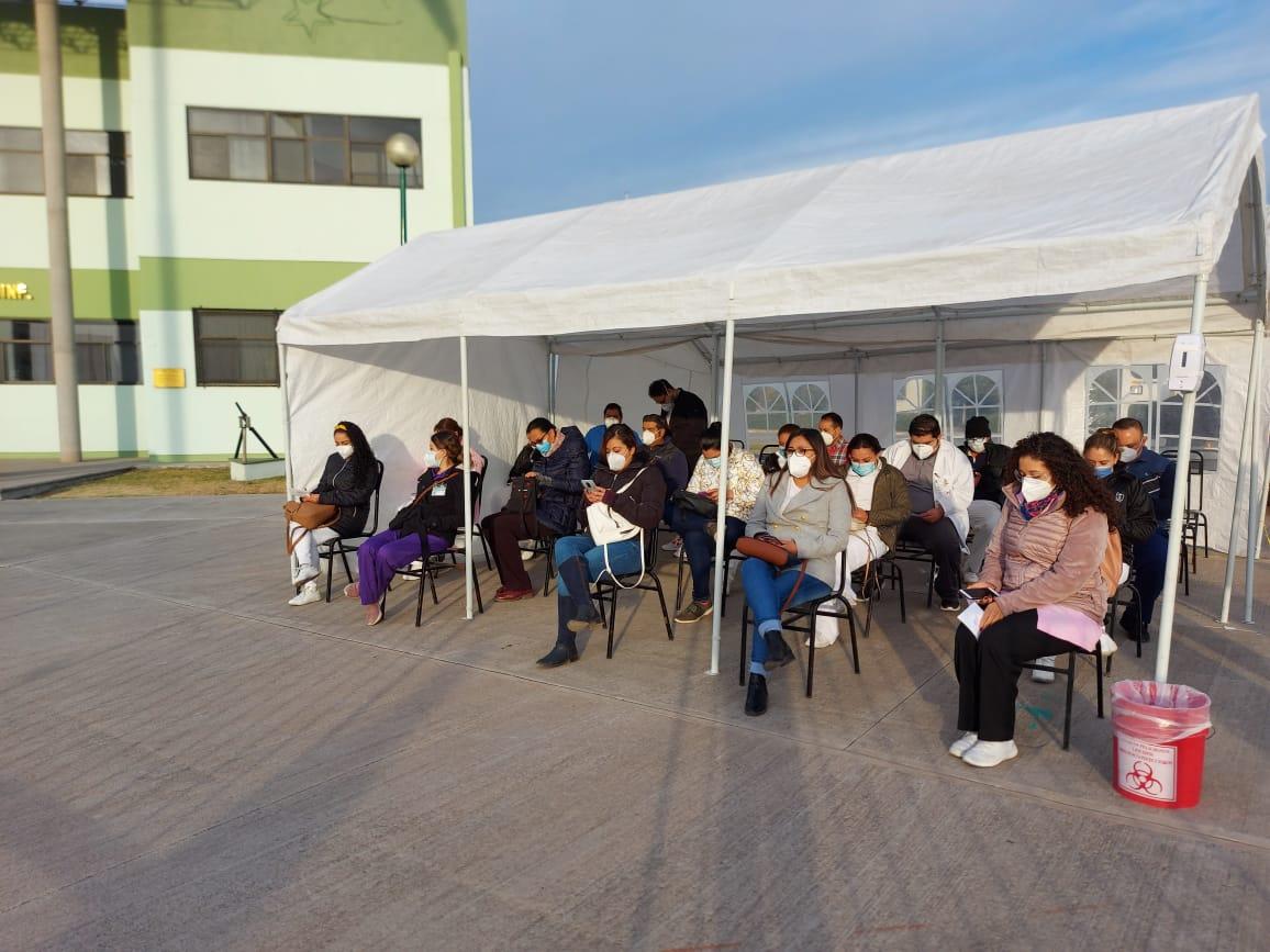 Se reanuda la campaña de vacunación contra el COVID-19 en la Región Centro