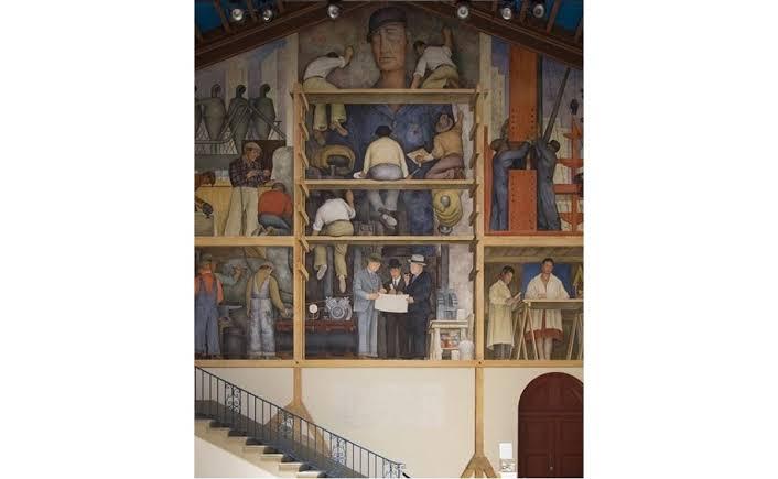 SFAI vendería mural de Diego Rivera por crisis