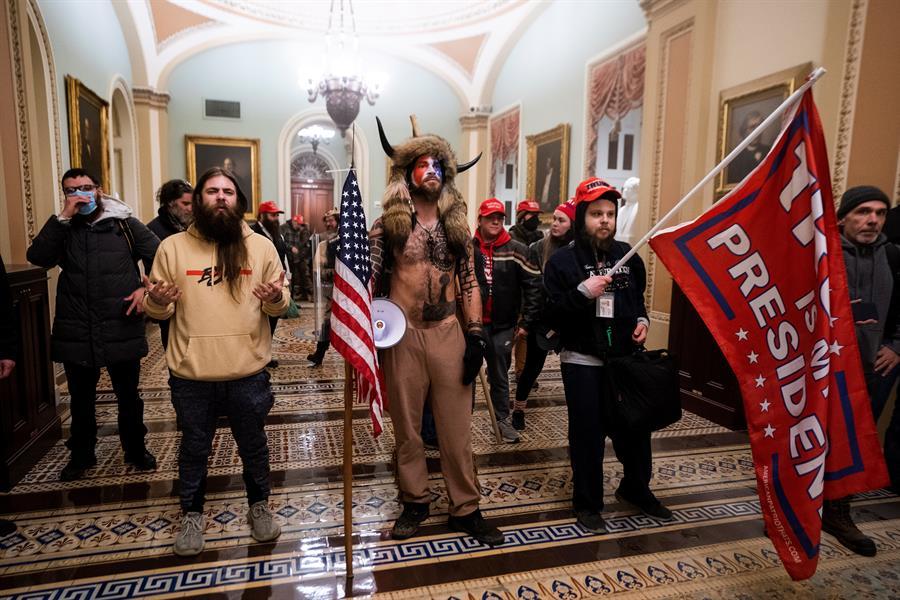 GALERÍA: Asalto al Capitolio de Estados Unidos