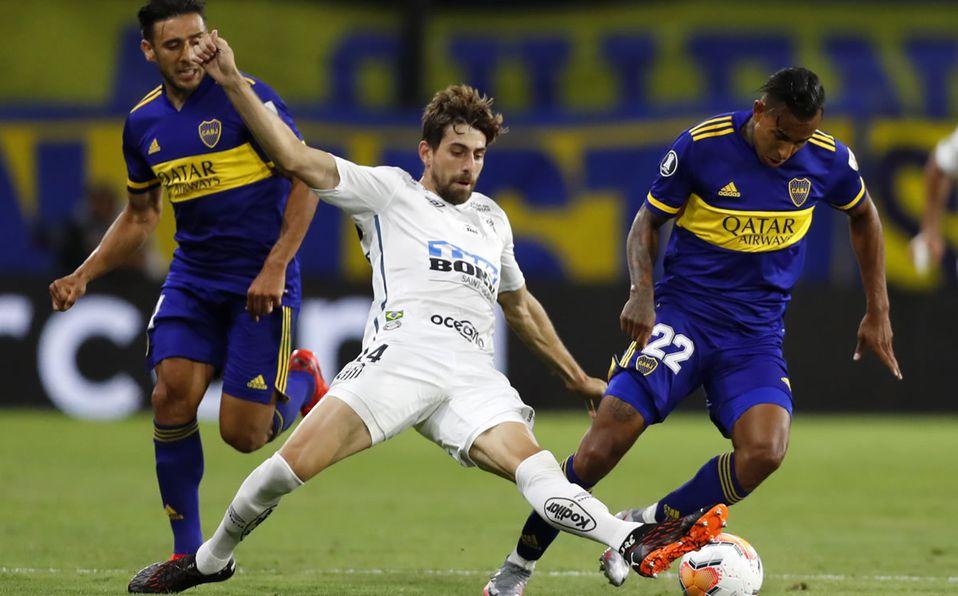 Boca y Santos empataron 0-0