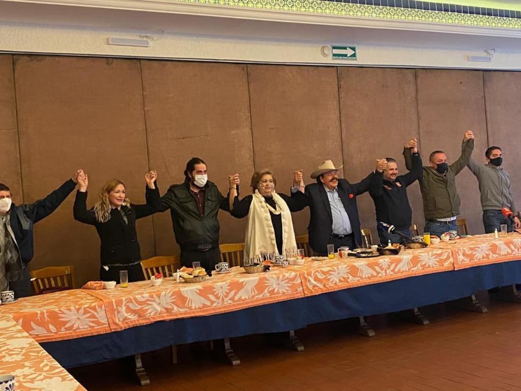 Alianza en Coahuila MORENA, UDC y PT