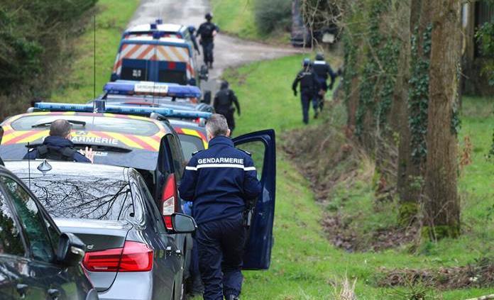 Cuatro arrestados por una fiesta multitudinaria de Nochevieja en Francia