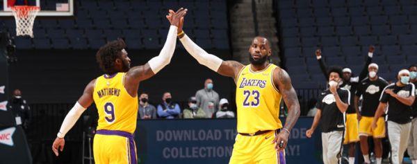 Lakers a la Casa Blanca