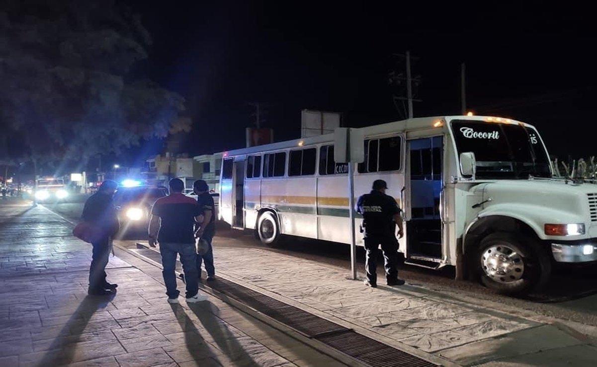 Asesinan a pasajero de transporte suburbano
