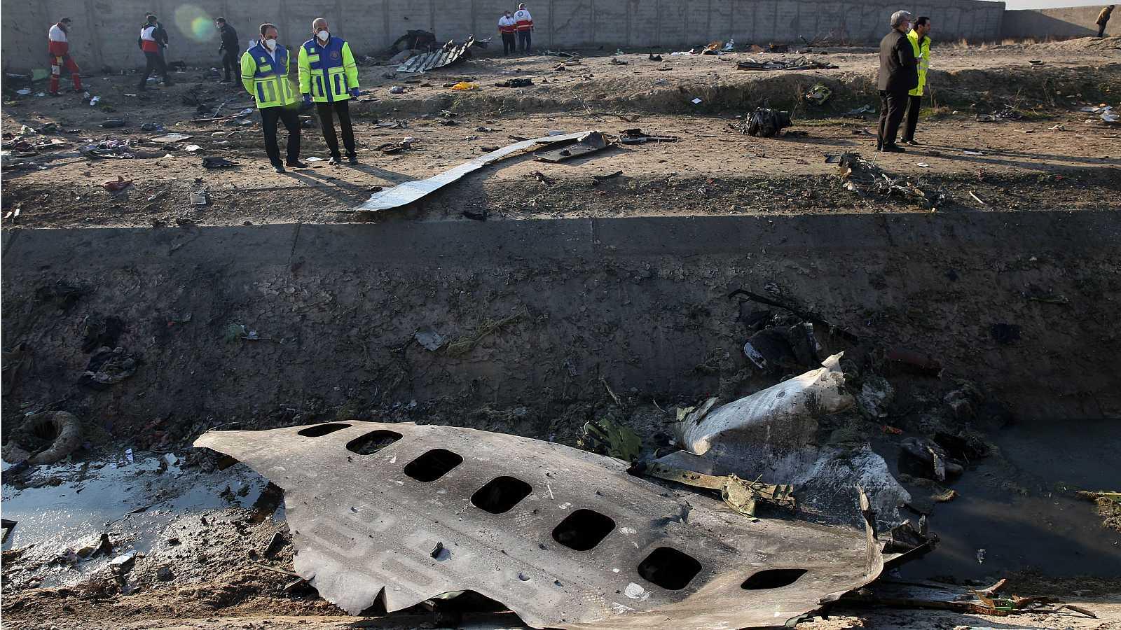 Ucrania pide justicia a Irán en aniversario derribo Boeing con 176 pasajeros