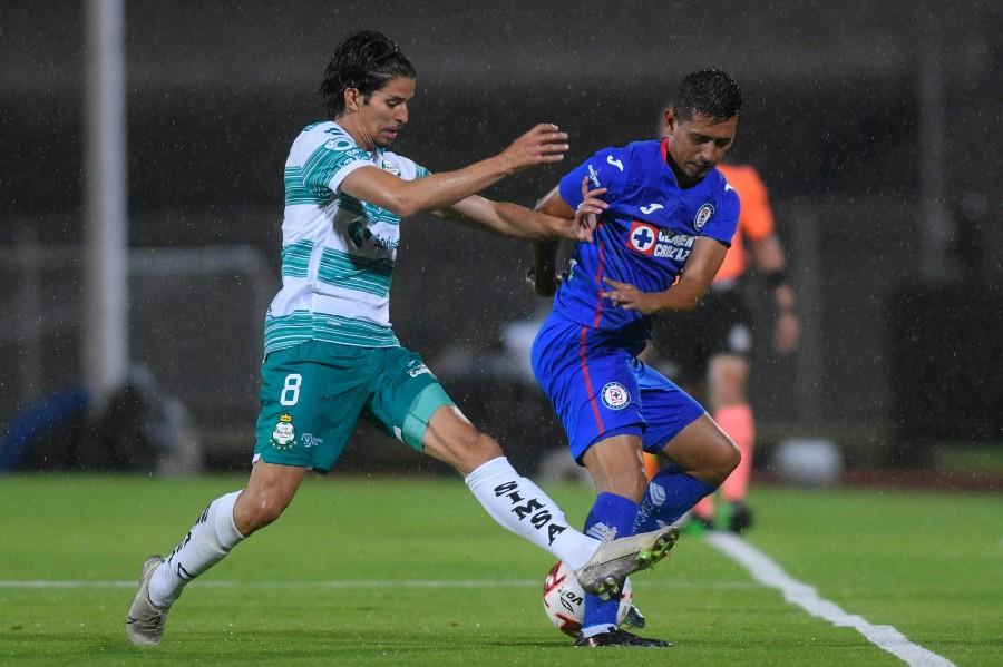 Si jugarán el Santos y Cruz Azul