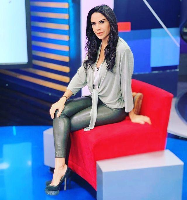 Se libra Paola Rojas de las garras del Covid y regresa con toda su belleza y profesionalismo a la TV