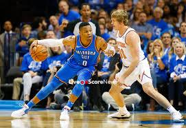 Los Thunder vencieron a Knicks