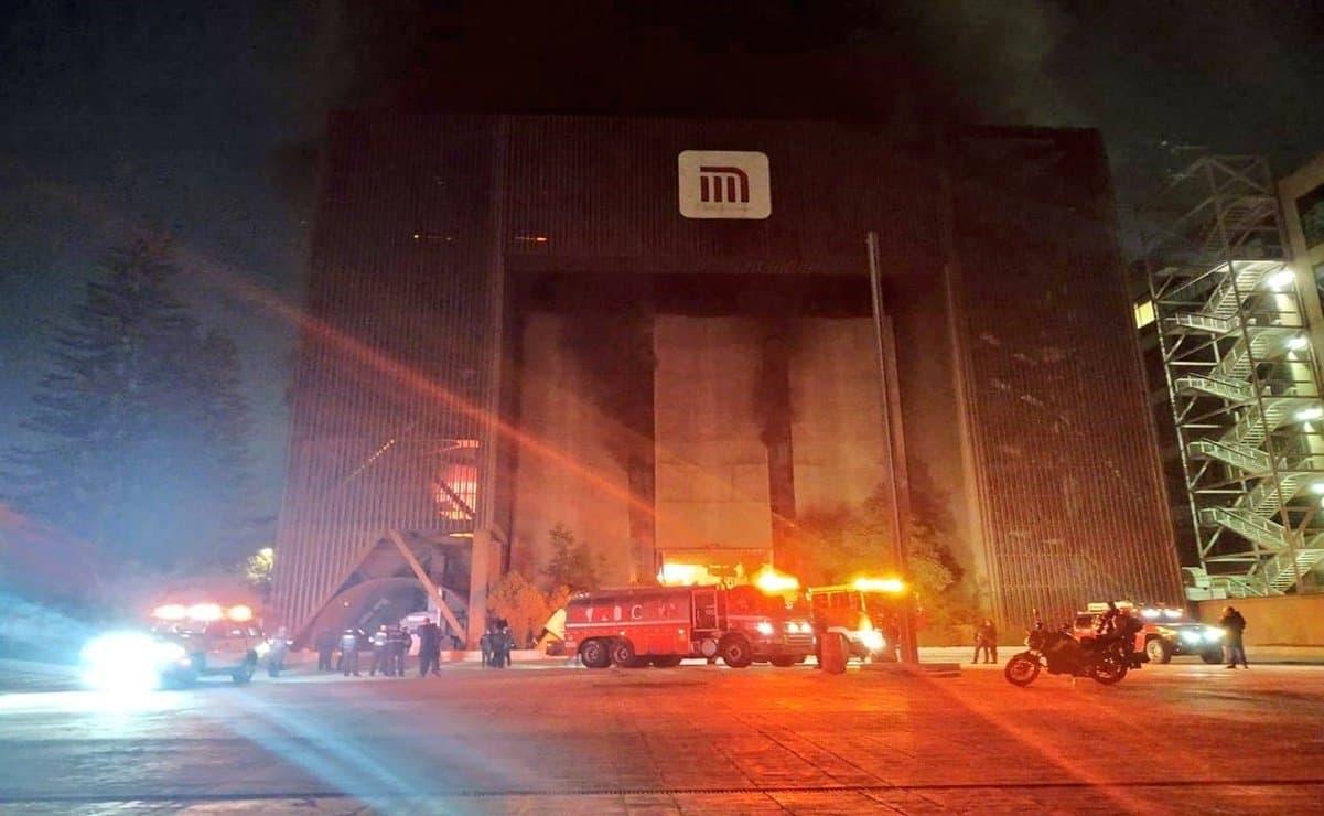 Se registra incendio en oficinas del Metro de la CDMX; reportan una persona muerta