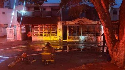 Incendio deja siete muertos y cuatro heridos en ciudad colombiana de Cúcuta