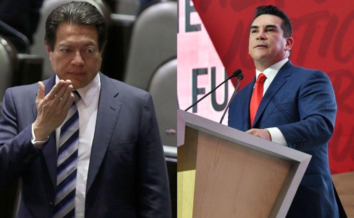 Alejandro Moreno reta a Mario Delgado a debate