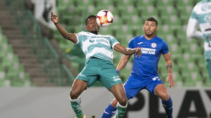 Santos supera al Cruz Azul
