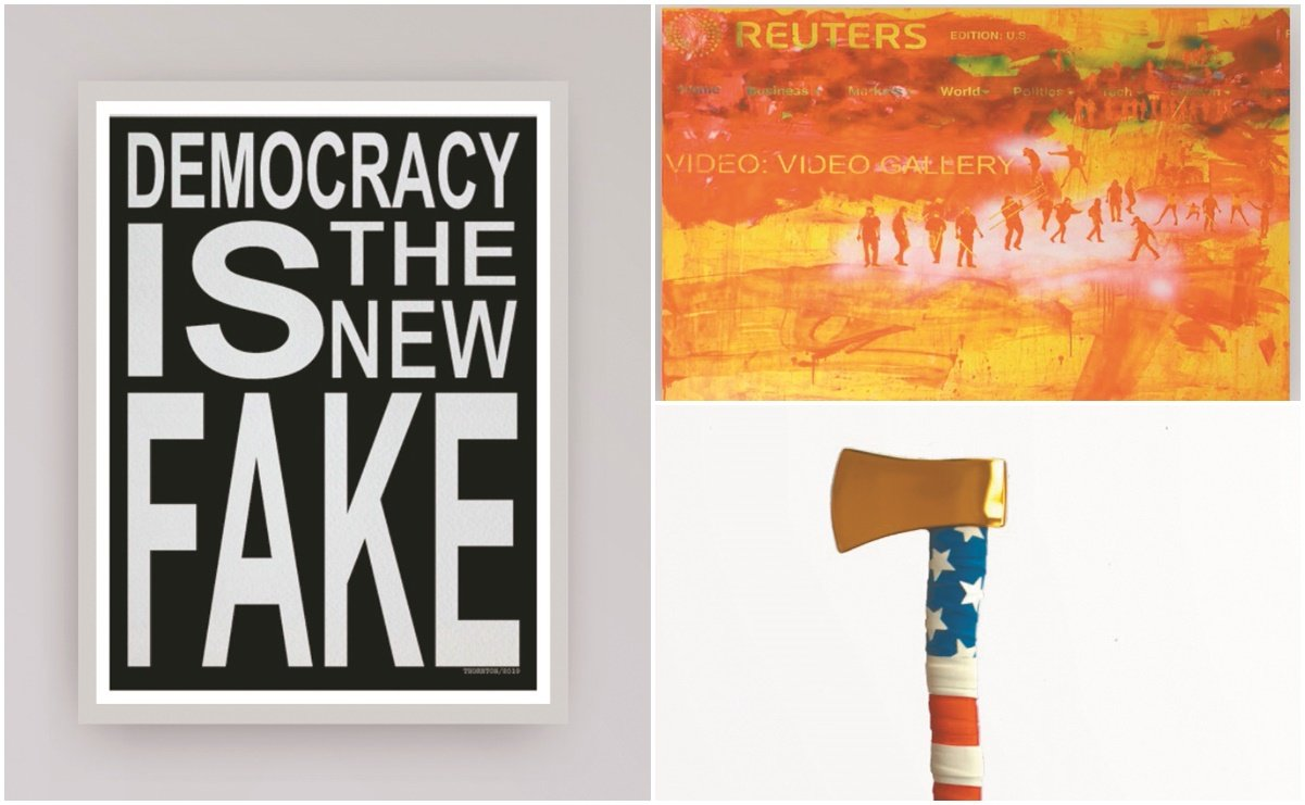 ArtFocus reúne galerías de América Latina y expone 'Democracia'