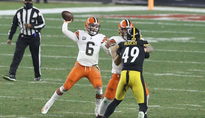 37-48. Mayfield y Browns sorprenden a Steelers y jugarán ante Chiefs
