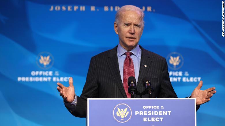 Asegura Biden no tener miedo de jurar su cargo al aire libre el día 20