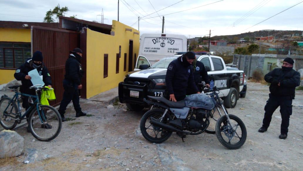 Recuperan objetos robados en Monclova