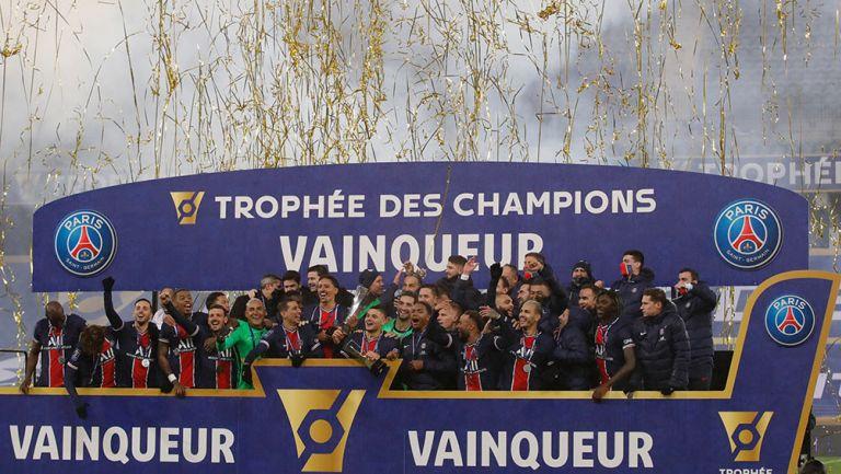 La Supercopa de Francia para el PSG