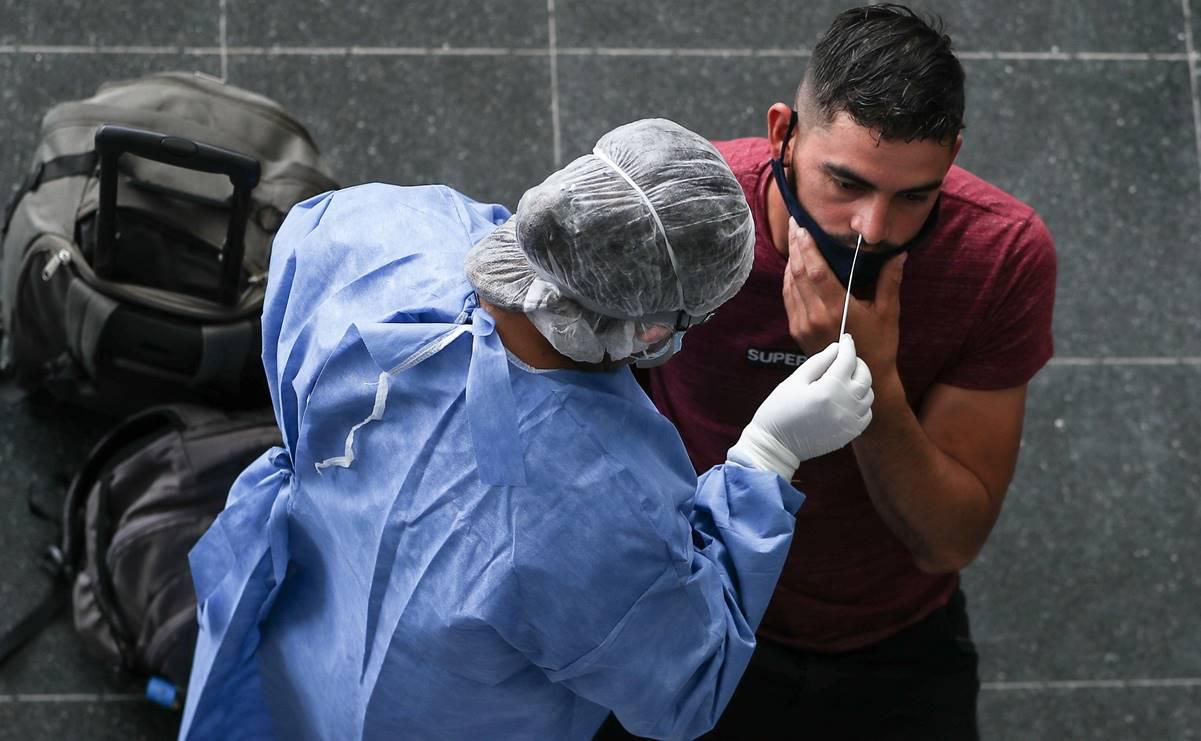 América con récord de contagios suma 2.5 millones en una semana