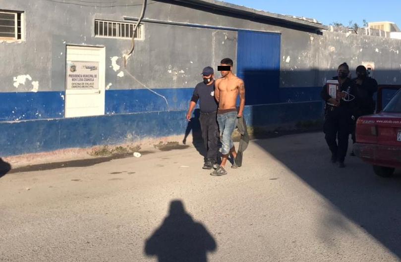 Caen supuestos ladrones de casas en Monclova
