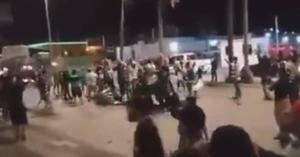 VIDEO: Captan pelea en Mazatlán entre aficionados del Santos Laguna