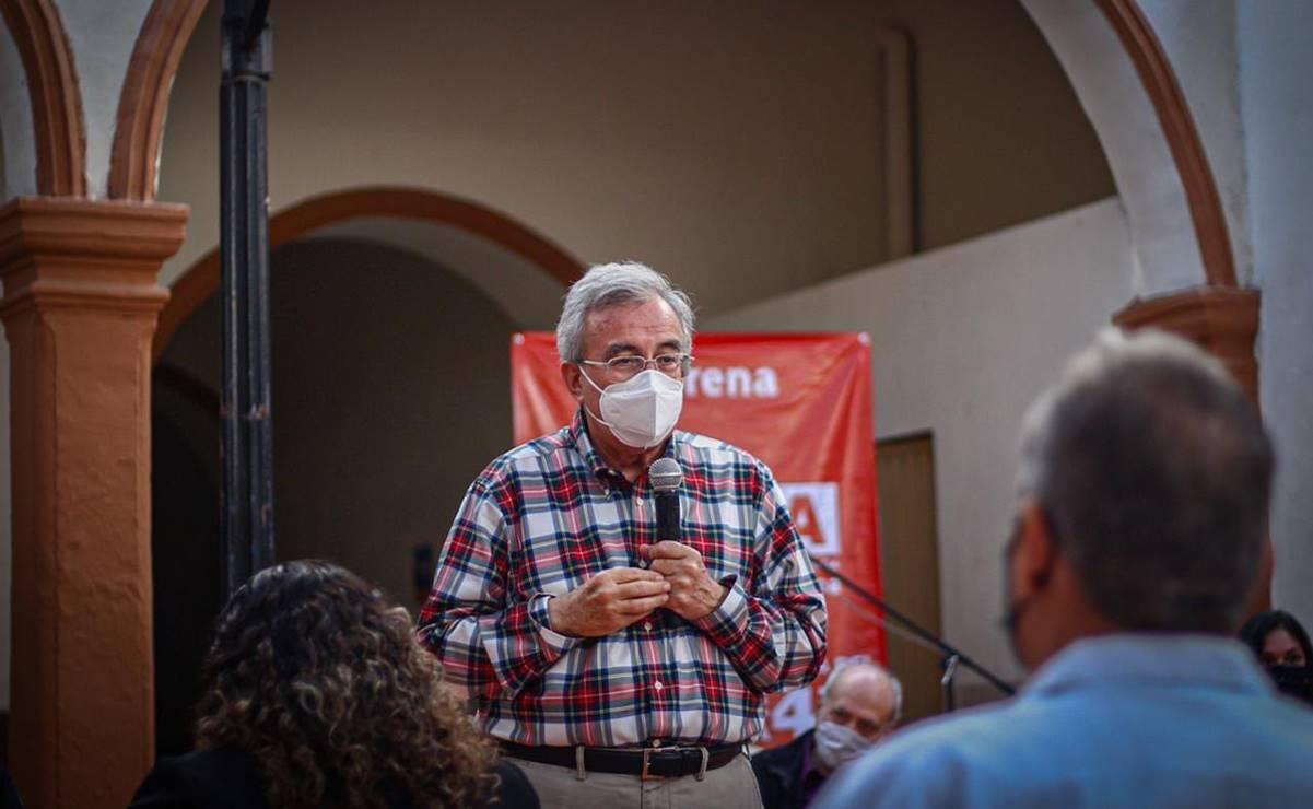 Senador de Morena, Rubén Rocha, se contagia de COVID-19 por segunda vez