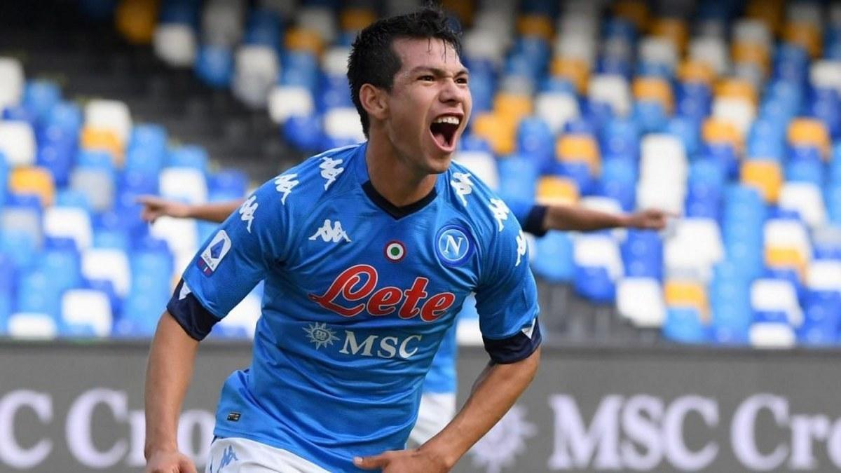 'Chucky' Lozano anota con el Napoli a los ocho segundos