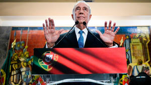 Rebelo de Sousa gana las presidenciales, con el 32 % de votos escrutados