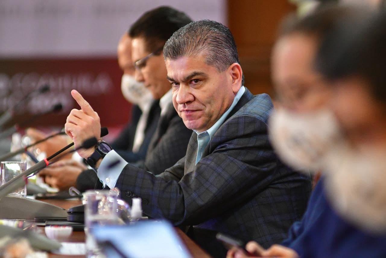 Coahuila, listo para vacunación a población abierta: Riquelme