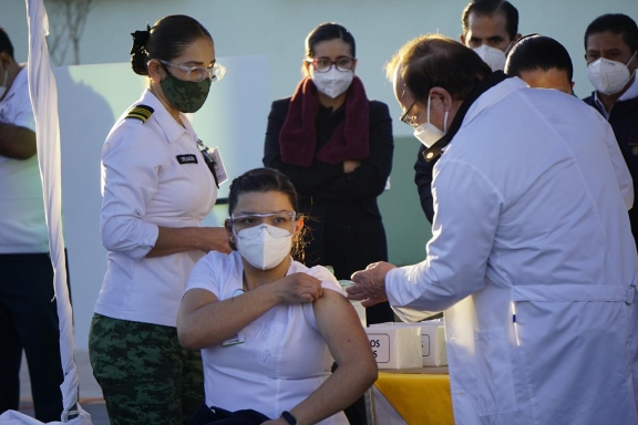 Alistan vacunación abierta en Coahuila: Miguel Riquelme