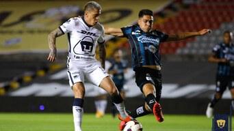 Querétaro fue superior a Pumas
