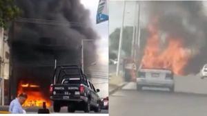 Domingo de violencia y bloqueos en Guanajuato