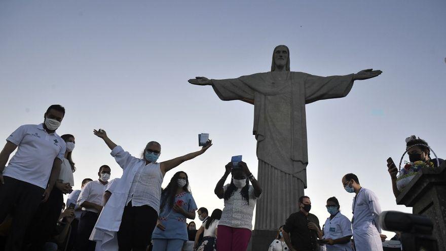 Estados brasileños imponen nuevas restricciones para frenar la pandemia