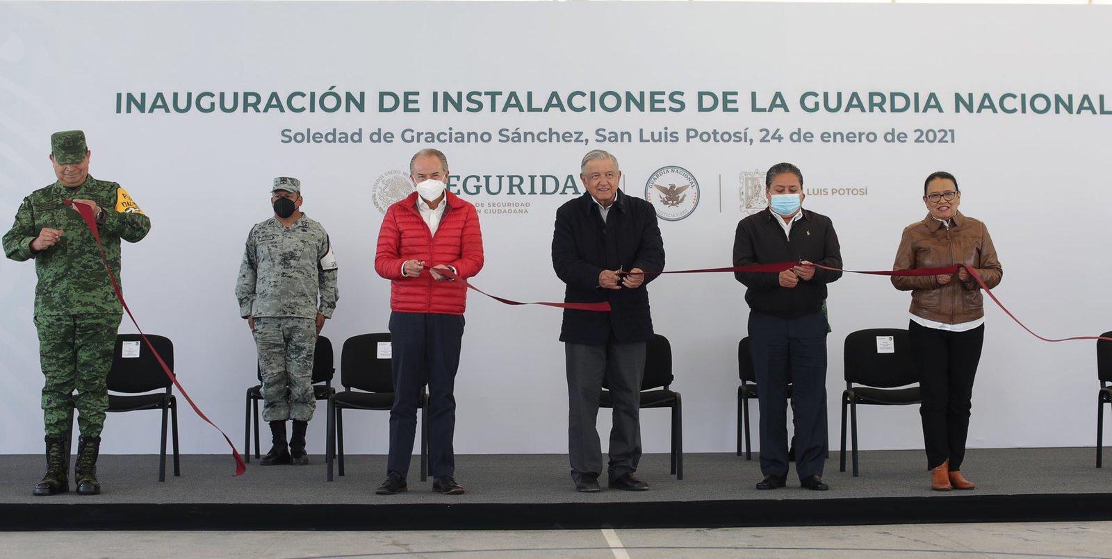 Tras visita de AMLO a San Luis Potosí, gobernador da negativo a COVID-19