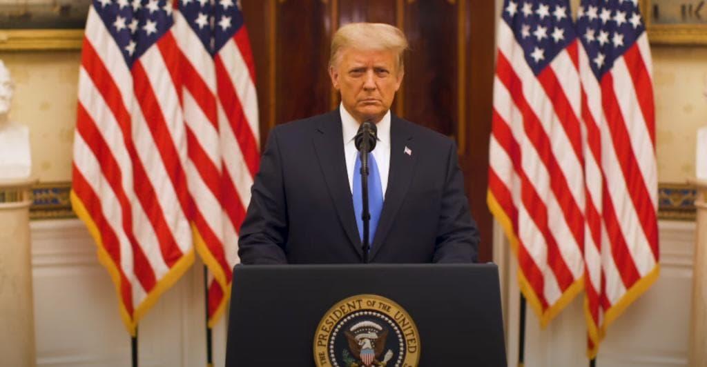 Trump crea página web para su 'pospresidencia'