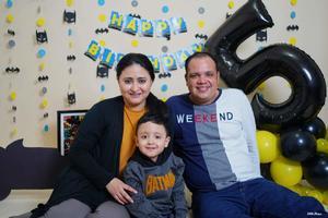 Ernesto celebra cinco añitos en Monclova
