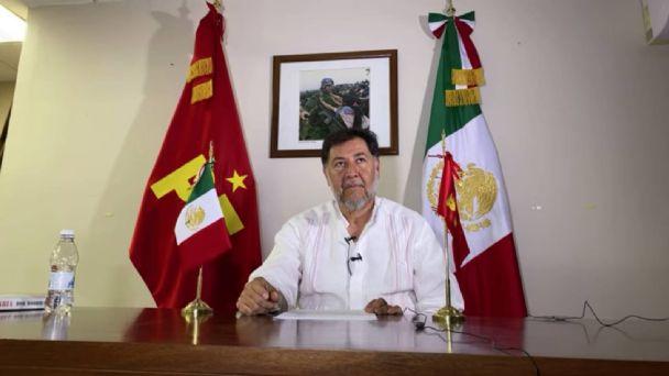 Fernández Noroña: Ofrece disculpa a diputada panista