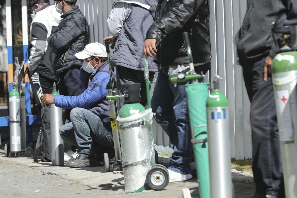 Sánchez Cordero: Delincuencia está metida en los tanques de oxígeno