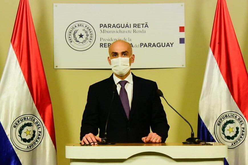 Ministro de Salud paraguayo reitera cumplimiento de protocolos sanitarios