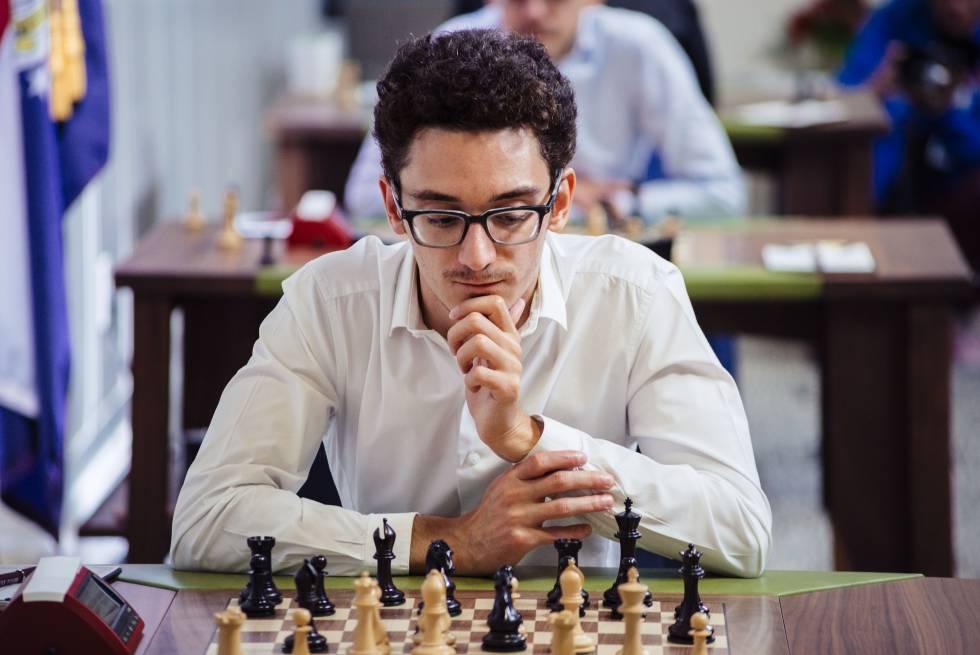 Estadounidense Caruana va de líder en el gran clásico de ajedrez