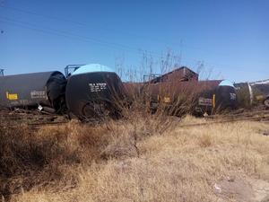 Obreros del accidente ferroviario en Frontera mejoran en su salud