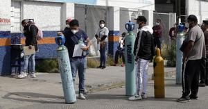 Alertan en Castaños por oxígeno en cilindros contaminados