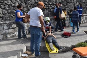 Embisten a ciclista en el puente de AHMSA en Monclova