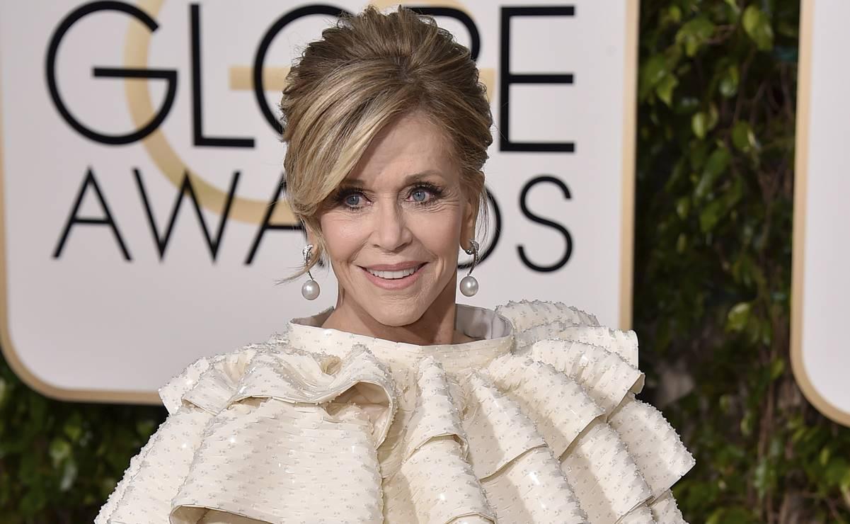 Reconocerán la trayectoria de Jane Fonda en Globos de Oro