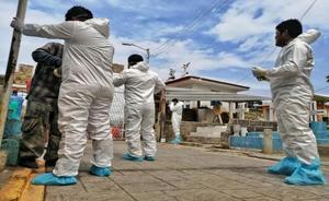 Salina Cruz; en alerta máxima tras aumento de muertes por pandemia