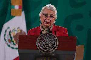 Sánchez Cordero: Estuve a una distancia muy razonable del Presidente