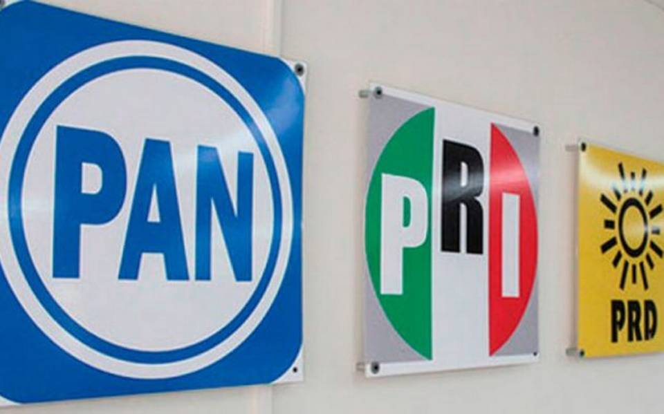 PAN, PRI y PRD: Registran coalición 'Va Por el Estado de México'